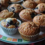 Best Ever Gluten Free Blueberry Muffins